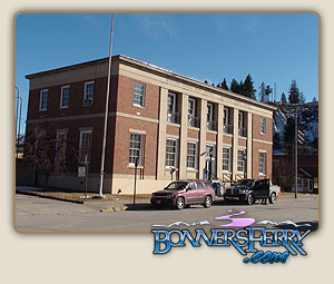 US Post Office Bonners Ferry Idaho