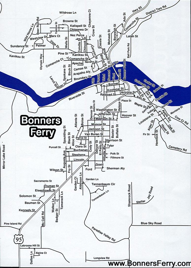 Bonners Ferry Idaho Real Estate Home Page